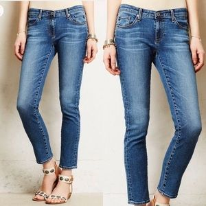 Ag Jeans The Stevie Slim Straight Ankle Jeans. 27